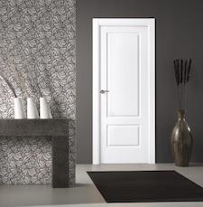 Puerta interior blanca 200