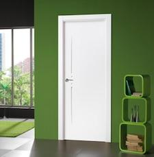 Puerta interior blanca 20100