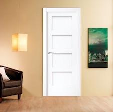 Puerta interior blanca 22400