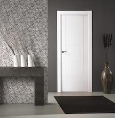 Puerta interior blanca 8400