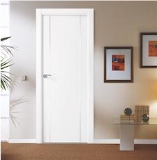Puerta interior blanca 9200